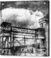 Tobaco Dock London Vintage Acrylic Print
