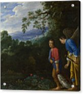 Tobias And The Archangel Raphael Acrylic Print
