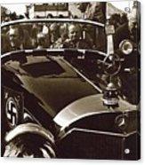 Tom Barrett And Family High Bidder Earl Clark At $153,000 Of Adolf Hitlers Mercedes Benz 770k Acrylic Print