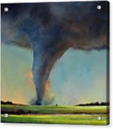 Tornado On The Move Acrylic Print by Toni Grote