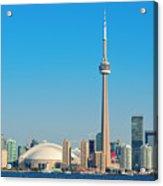 Toronto Skyline In The Day Acrylic Print