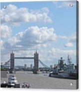 Tower Bridge.  Acrylic Print