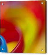 Toy Abstract Acrylic Print