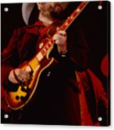 Toy Caldwell Of Themarshall Tucker Band At The Cow Palace Acrylic Print