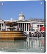 Trafalgar Square London Acrylic Print