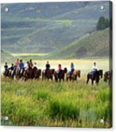 Trail Ride Acrylic Print