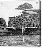 Transcontinental Railroad Acrylic Print