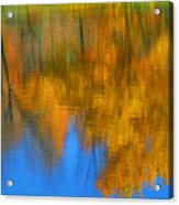 Tree Reflection Painting Acrylic Print
