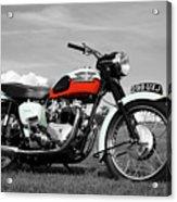 Triumph Bonneville 1959 Acrylic Print