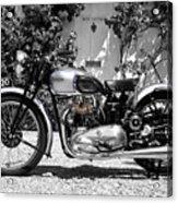 Triumph Tiger 100 1939 Acrylic Print