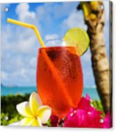 Tropical Cocktail Acrylic Print