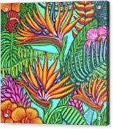 Tropical Gems Acrylic Print