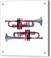 Trumpets Acrylic Print