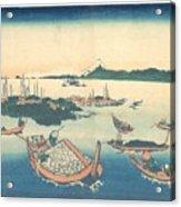 Tsukudajima In Musashi Province Acrylic Print