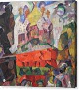 Tverskoy Boulevard Acrylic Print