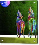 Two Coyote By Nixo Acrylic Print