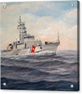 U. S. Coast Guard Cutter Monsoon Acrylic Print