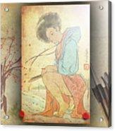 Ukyo-e Soul Acrylic Print
