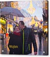 Ula And Wojtek Engagement 12 Acrylic Print