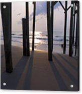 Under Pier Acrylic Print