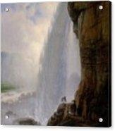 Underneath Niagara Falls Acrylic Print
