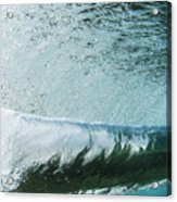 Underwater Barrel Acrylic Print