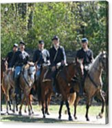 Union Cavalry Acrylic Print