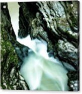 Up The Down Waterfall Acrylic Print