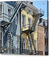 Up The Stairs Acrylic Print
