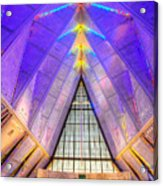 Us Air Force Academy Chapel Acrylic Print