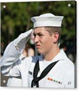 Us Naval Sea Cadet Corps - Gulf Eagle Division, Cape Coral, Florida Acrylic Print