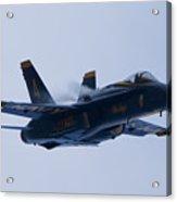 Us Navy Blue Angels High Speed Turn Acrylic Print by Dustin K Ryan
