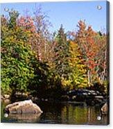 Usa, New York, Adirondack State Park Acrylic Print