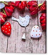 Valentine's Day Acrylic Print