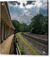 Valley Forge Train Station  Acrylic Print