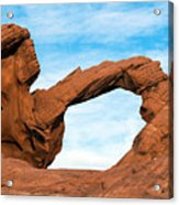 Valley Of Fire State Park Arch Rock Acrylic Print