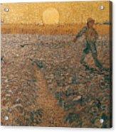 Van Gogh: Sower, 1888 Acrylic Print