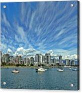 Vancouver British Columbia Acrylic Print