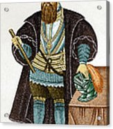 Vasco Da Gama, Portuguese Explorer Acrylic Print