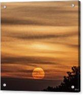 Veiled Sunrise Acrylic Print