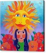 Verano Amor Acrylic Print