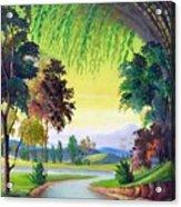 Verde Que Te Quero Verde Acrylic Print