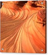 Vermilion Cliffs Dragon Acrylic Print