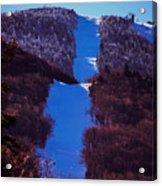 Vermonts Sugarbush Mountain Acrylic Print