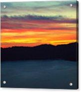 Vibrant Skies  Acrylic Print
