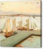 View From Pohjoisranta Acrylic Print