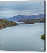 View From The Bear Mountain Bridge Acrylic Print