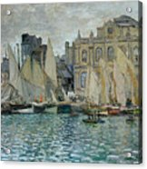 View Of Le Havre Acrylic Print