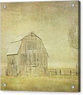 Vintage Barn Acrylic Print