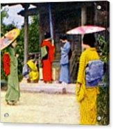 Vintage Japanese Art Acrylic Print